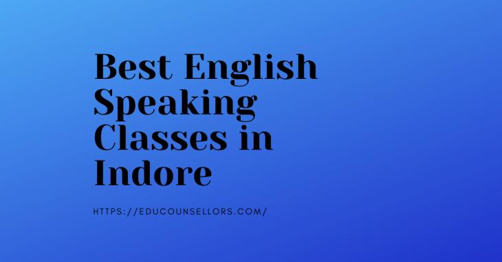 Best English Speaking Classes Indore